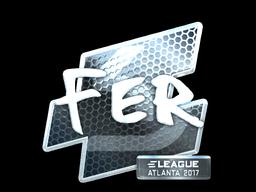 Sticker | fer (Foil) | Atlanta 2017