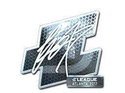 Sticker | fox (Foil) | Atlanta 2017