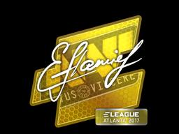 Sticker | flamie | Atlanta 2017