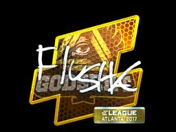 Sticker | flusha (Foil) | Atlanta 2017