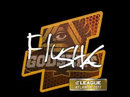 Sticker | flusha | Atlanta 2017