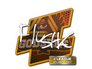 Skin Sticker | flusha | Atlanta 2017