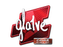 Skin Sticker | gla1ve (Foil) | Atlanta 2017