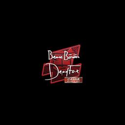 Sticker   DeadFox   Atlanta 2017