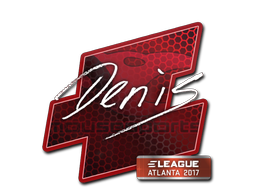 Sticker | denis | Atlanta 2017