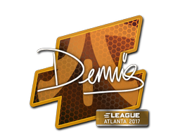 Sticker | dennis | Atlanta 2017