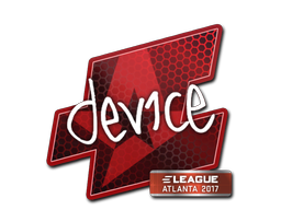 Sticker | device | Atlanta 2017