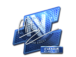 Sticker | apEX (Foil) | Atlanta 2017
