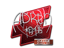 Sticker | AdreN (Foil) | Atlanta 2017