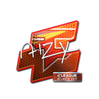 Sticker | aizy (Foil) | Atlanta 2017