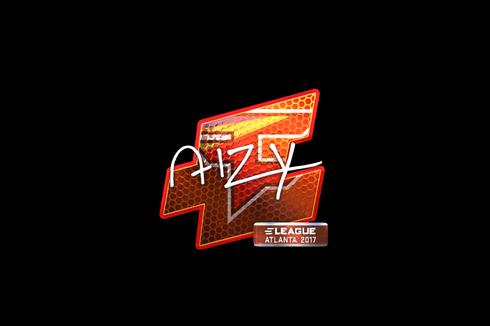 Sticker | aizy (Foil) | Atlanta 2017 Prices