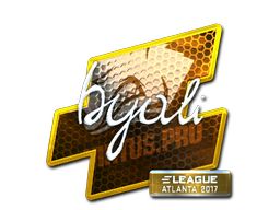Sticker | byali (Foil) | Atlanta 2017