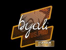 Sticker | byali | Atlanta 2017