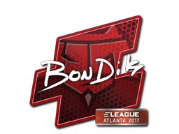 Sticker | bondik | Atlanta 2017