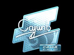 Sticker | cajunb (Foil) | Atlanta 2017