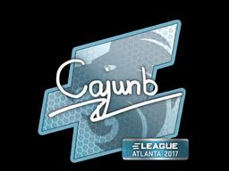 Sticker | cajunb | Atlanta 2017