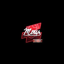 Sticker | mou (Foil) | Atlanta 2017