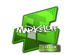 Sticker | markeloff | Atlanta 2017