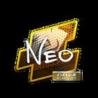 Sticker | NEO (Foil) | Atlanta 2017