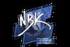 Sticker | NBK- | Atlanta 2017
