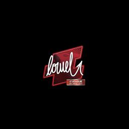 Sticker   loWel   Atlanta 2017
