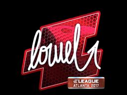 Sticker | loWel (Foil) | Atlanta 2017