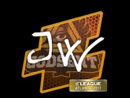 Sticker | JW | Atlanta 2017