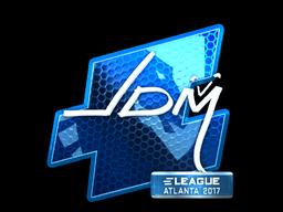Sticker | jdm64 (Foil) | Atlanta 2017