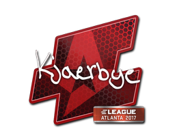 Sticker | Kjaerbye | Atlanta 2017