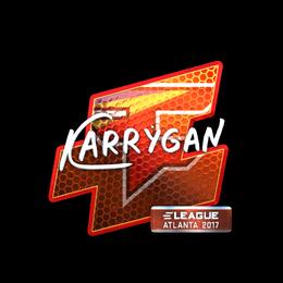 karrigan (Foil) | Atlanta 2017