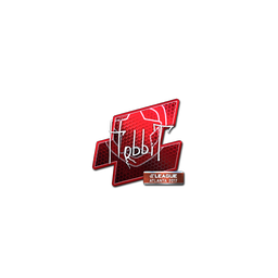 Sticker | Hobbit (Foil) | Atlanta 2017