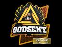 Sticker | GODSENT | Atlanta 2017