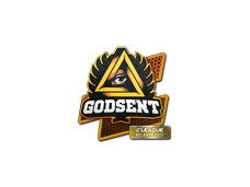 Skin Sticker | GODSENT | Atlanta 2017
