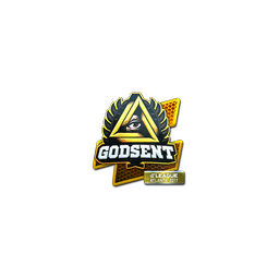 Sticker | GODSENT (Foil) | Atlanta 2017