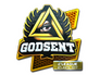 Skin Sticker | GODSENT (Foil) | Atlanta 2017