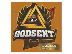 Sealed Graffiti | GODSENT | Atlanta 2017