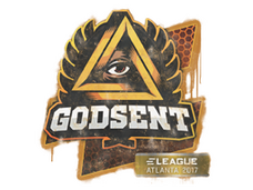 Skin Sealed Graffiti | GODSENT | Atlanta 2017