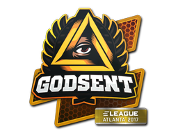 Sticker | GODSENT | Atlanta 2017