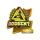 Sticker | GODSENT (Holo) | Atlanta 2017