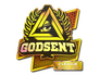 Skin Sticker | GODSENT (Holo) | Atlanta 2017