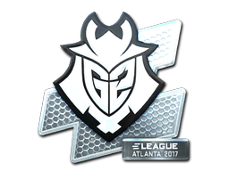 Sticker | G2 Esports (Foil) | Atlanta 2017