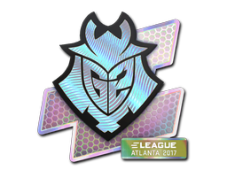 Sticker | G2 Esports (Holo) | Atlanta 2017