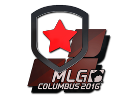 Наклейка   Gambit Gaming   Колумбус 2016