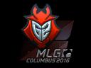 Sticker   G2 Esports (Foil)   MLG Columbus 2016