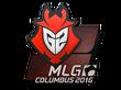 Sticker G2 Esports | MLG Columbus 2016