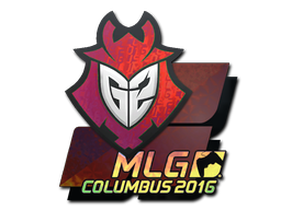 Sticker | G2 Esports (Holo) | MLG Columbus 2016