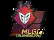 Sticker G2 Esports (Holo) | MLG Columbus 2016