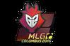 Sticker   G2 Esports (Holo)   MLG Columbus 2016
