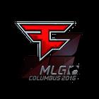 Sticker | FaZe Clan (Foil) | MLG Columbus 2016