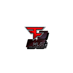 Sticker | FaZe Clan (Foil) | MLG Columbus 2016
